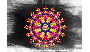 Colorful Kolam